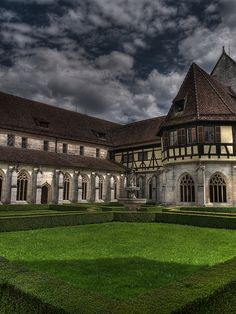 Bebenhausen Abbey, Baden-Württemberg, Germany ~ a Cistercian monastery built by Rudolf I, Count Palatine of Tübingen, circa 1183