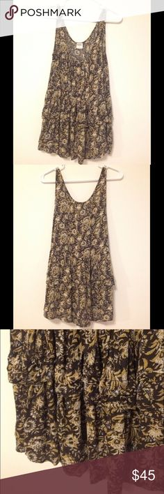 Intimately Free People Top Paisley print. Rare. Size small but would also fit a medium. Free People Tops Tank Tops