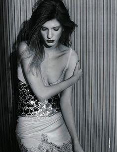 Caterina Ravaglia in seductive glam for D La Repubblica April 2014   The Fashionography