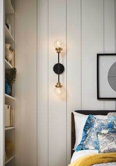 Poppy features clear seedy glass spheres that bubble out of the refined Black with Heritage Brass frame to create a simple, yet sophisticated silhouette.   Elegant, stepped clear seedy glass globes and crisp crossbars anchor this airy design. Poppy showcases mid-century style with a spectacular spin. #midcenturystyle #hinkleystyle #bedroomideas #sconces Hinkley Lighting, Wall Sconce Lighting, Chandelier Lighting, Wall Sconces, Mid Century Style, Mid Century Modern Design, Wall Lights, Ceiling Lights, Glass Globe