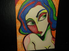 Drawing: Seduction No3 by Rodster ink on card stock - ebay