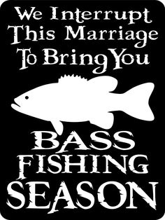 "BASS FISHING SIGN 9""x12"" Aluminum. $12.00, via Etsy."