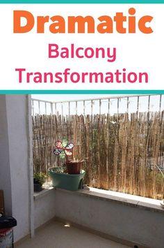 Small balcony ideas: