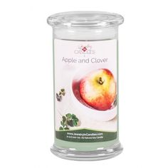 Crisp, clean and earthy. You will love every note of this invigorating fragrance. Vibrant green floral notes of fresh clover balanced with fresh apple make this classic scent a fan favorite.   Full size 21oz Order here==>> https://www.jewelryincandles.com/store/jic-hanbury-store