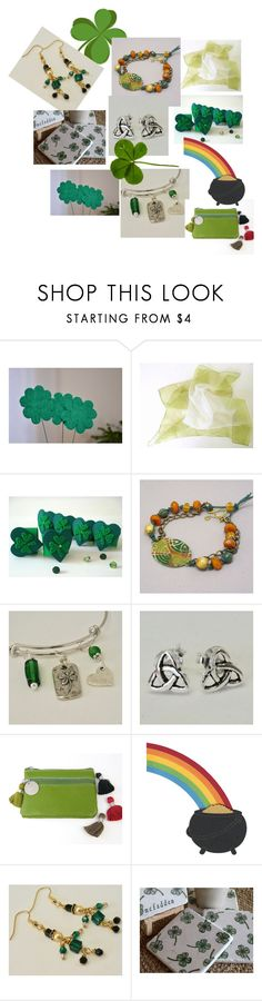 May the luck of the Irish be with you! by baymoondesign on Polyvore featuring fashionset