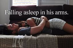I love doing this<3 I will always feel safe with him