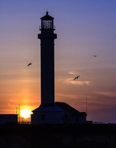 *Point Arena Lighthouse at Sunset