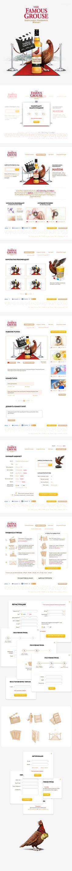 Famous Grouse Promo by Novozhilov Mike, via Behance