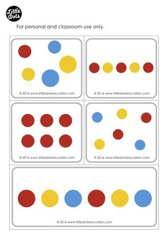 Printable Cards, Printables, Herve, Counting, Dots, Activities, Preschool, Learning, Montessori
