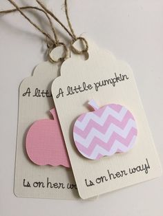 Little Pumpkin Baby Shower Little Pumpkin Favor Tags by PaperStrip on Etsy: www…. - All You Need To Know About Baby Shower Baby Favors, Baby Shower Favors, Baby Shower Themes, Baby Shower Invitations, Shower Ideas, Invites, Baby Shower Fall, Baby Shower Signs, Fall Baby