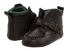 Ralph Lauren Layette Kids Ranger Hi Soft Sole (Infant)