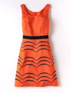 Summer Fun Dress - orange you glad I pinned this? ;)