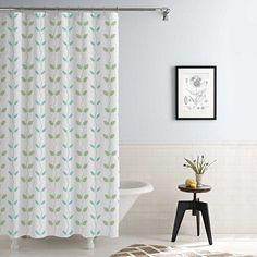 Varick Gallery Shawsville Waterproof Printed 14 Piece Shower Curtain Set Color: Aqua/Sage