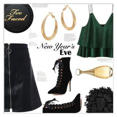 """New Year's Eve"" by mycherryblossom ❤ liked on Polyvore featuring Urban Decay and Christian Dior"