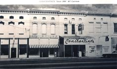 Fort Smith, Arkansas / Courtesy of Chuck Raney Constantino's restaurant did business for many decades on Garrison Avenue. The space later was home to Juanita Bolli...