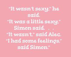 Alec and Simon, COHF.