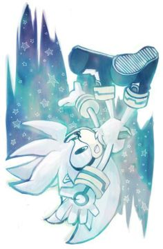 """Pg. 77-So far Silver and I are not getting off on the right foot. Still, I still try to be understanding. He is Blaze's friend, after all. """"The party's probably over by now,"""" Silver says sadly. The party's the least of our problems. As we approach the house, Sonic meets us. """"How did it go?"""" """"Not quite the way I'd hoped,"""" I said, glancing at Silver and gritting my teeth. """"We beat three of them,"""" said Espio."""