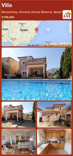 Villa in Beniarbeig, Alicante (Costa Blanca), Spain ►€199,950 #PropertyForSaleInSpain