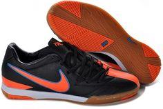 e73940d5647 Nike Total 90 Shoot IV TF Mens Astro Turf Soccer Shoes(Black Total Orange  Blue