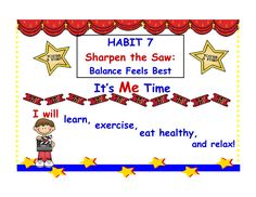 Balancing Life Interactive PowerPoint | Guidance lessons