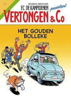 FC De Kampioenen stelt voor : VERTONGEN EN C°, een nagelnieuwe stripreeks van Standaard Uitgeverij met in de hoofdrollen Markske, Paulientje, inspecteur Porei en Oma Boma… en natuurlijk de onafscheidelijke vriend van Paulien: Balthazar de hond.