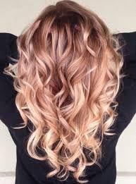 Image result for rose gold highlights blonde