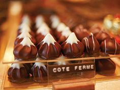 Michel Chaudun is an expert when it comes to chocolates.