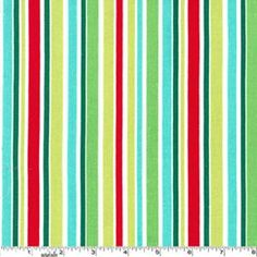 Michael Miller Fabric - That's All Stripe - Ships Free