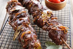 Beef Espetada - Make delicious beef recipes easy, for any occasion Beef Recipes, Cooking Recipes, Healthy Recipes, Healthy Foods, Good Food, Yummy Food, Portuguese Recipes, Food Styling