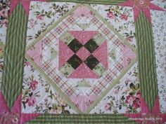 Pretty block quilting