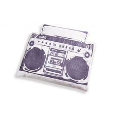 donkey products | BoomBreak Ghettoblaster / Hot & Cool Cherry Pit Pillow