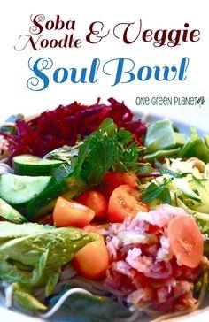 http://onegr.pl/1DDNblf #vegan #vegetarian #soba #noodle #veggie #bowl #recipe