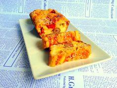 Checuri-aperitiv cu fasole, ardei copti, branza topita si carnati - imagine 1 mare