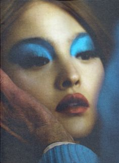 Not the best of pictures, but I love the make-up. Devon Aoki