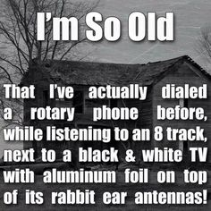 There's an absolutely accurate statement. Glad I lived during those times.....