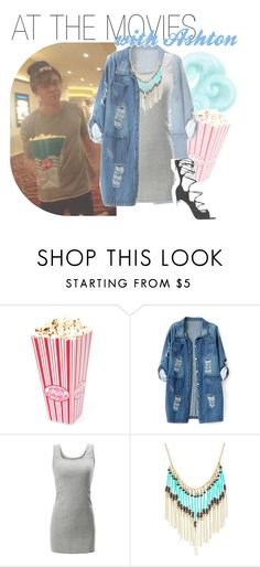"""""""at the movies with ashton"""" by fangirlsets ❤ liked on Polyvore featuring Chicnova Fashion and Gianvito Rossi"""