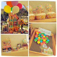 Up Theme Birthday Party we have the chalk board & chalk ?