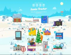 Google Santa Tracker: Countdown to Christmas with a great new minigame or video each day, then track his whereabouts on Christmas eve.