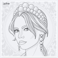 People Coloring Pages, Barbie Coloring Pages, Coloring Book Art, Coloring Pages For Girls, Cute Coloring Pages, Coloring Pages To Print, Easy Drawings Sketches, Outline Drawings, Sailor Moon Coloring Pages