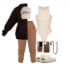 Cute Swag Outfits, Cute Comfy Outfits, Dope Outfits, Outfits For Teens, Girls Fashion Clothes, Fashion Outfits, Mode Streetwear, Black Girl Fashion, Cool Street Fashion