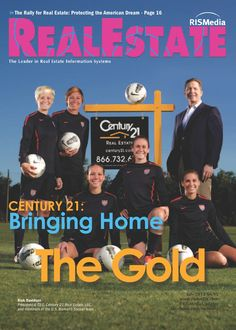 C21 Official Real Estate Company of Gold Medal Winning U.S. Soccer