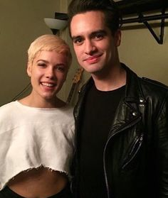HALSEY, BRENDON URIE PANIC! AT THE DISCO