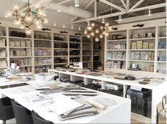 Ideas design studio interior garage for 2019 Design Studio Office, Workspace Design, Office Workspace, Office Spaces, Office Interior Design, Interior Design Studio, Office Interiors, Interior Ideas, Be Design