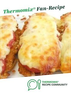 Recipe Chicken Parmigiana by Pingping, learn to make this recipe easily in your kitchen machine and discover other Thermomix recipes in Main dishes - meat. Bellini Recipe, Chicken Parmigiana, Cooking Recipes, Healthy Recipes, Recipe Community, Food N, Main Meals, Main Dishes, Chicken