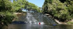 Experience nature's waterslide at Rere Falls, Gisbourne. http://bit.ly/1M40klz  Photo credit: http://bit.ly/1IFPPKp