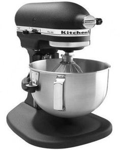 6qt Pro Stand Mixer- Kitchen Aid (imperial black)
