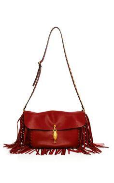 Shop Scarlet Vitello Shoulder Bag by Valentino for Preorder on Moda Operandi
