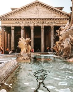 Pantheon-Rome First Love, Mansions, House Styles, Home Decor, Rome, Decoration Home, Room Decor, Villas, Interior Design