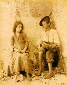 Children in Italy - 1870/1890 Napoli #TuscanyAgriturismoGiratola