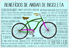 Benefícios de andar de bike